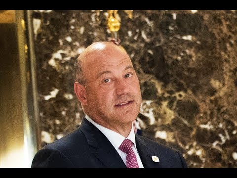 Gary Cohn Drafts Resignation Letter, Throws It Away