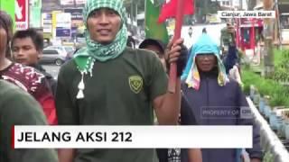 Ikut Aksi 212, Massa Organisasi Pelajar Islam Cianjur Longmarch ke Jakarta