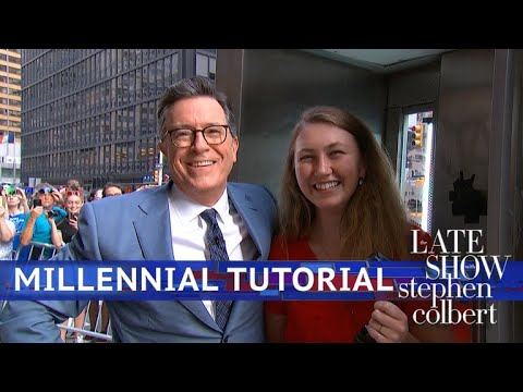 Xxx Mp4 Stephen Colbert S Millennial Tutorial Pay Phone Edition 3gp Sex
