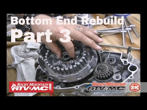 Motorcycle Bottom End Rebuild Part 3 (of 3) Final Assembly