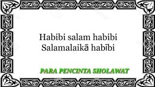 Sholawat Ahmad Ya Habibi - An Nida lirik Indonesia terbaru