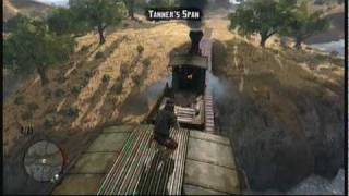 Red Dead Redemption Epic Train Robbery