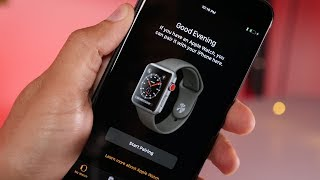 First look: Apple Watch Series 3 with LTE!