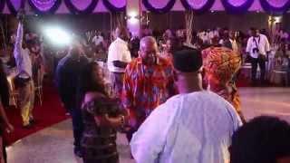 President Mahama Dances to the sounds of the #DiscoDance; the 2015 Musiga Grand Ball