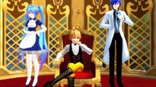 Childish War [MMD] Rin len