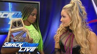 Natalya confronts SmackDown Women's Champion Naomi: SmackDown LIVE, July 25, 2017