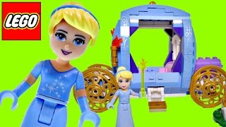 LEGO Cinderella Dream Carriage Disney Princess Fairy Tale 274 Building Blocks DCTC Toy Review