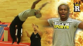 KSI DOES THE PERFECT BACKFLIP!!! | Rule