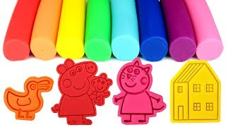 Peppa Pig Play Doh Molds Candy Cat Peppa