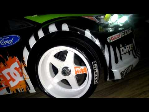DRIFT77 How to make Mudguards RC Drift Rally