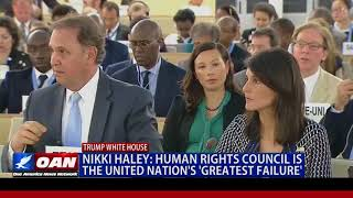 Nikki Haley: Human Rights Council is the United Nation