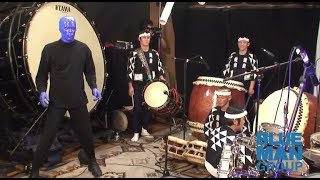Blue Man Group Performs with Kodo Drummers   Exclusive Archival Footage   Behind-the-Scenes