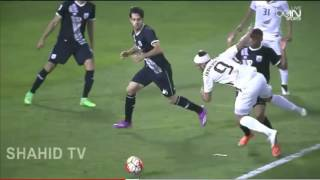 حمد الله يسجل هدفا عالميا ويقصي زملاء تشافي من نصف نهائي كأس قطر