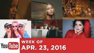Top 10 Most Popular Songs - Week Of April 23, 2016 (YouTube)