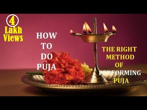 Xxx Mp4 HOW TO DO PUJA AT HOME DAILY Steps Of A Puja Pooja Vidhi 3gp Sex