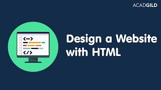 Front End Web Development Tutorial | How to Design Website with HTML