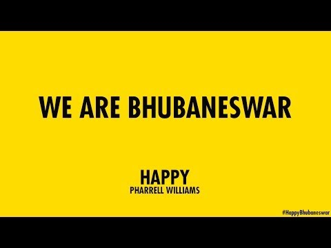 Pharrell Williams - Happy (Bhubaneswar)
