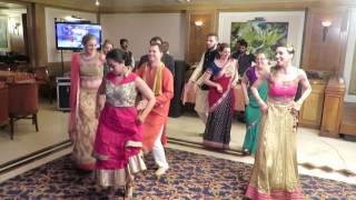 Dancing at Caitlin and Tej's Wedding to Gallan Goodiyaan