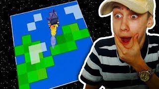 MET EEN RAKET DE RUIMTE IN! NAAR DE MAAN! (Minecraft Mod)