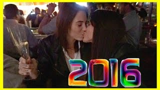 IT'S 2016! | Lesbian couple New Year's Eve |