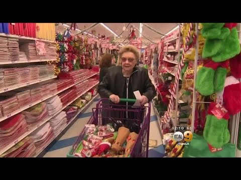 99-Year-Old Woman Goes On Shopping Spree At 99-Cents-Only Store