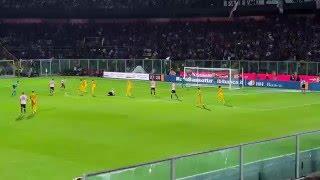 Palermo - Verona 3-2 Gol Vazquez LIVE dalla Gradinata