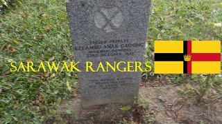 Sarawak Rangers grave in Cheras War Cemetery