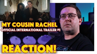 REACTION! My Cousin Rachel International Trailer #1 - Rachel Weisz Movie 2017