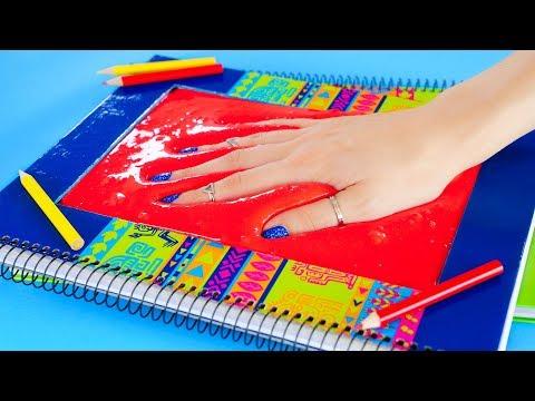 Sneak Stress Toys in Class DIY Slime Squishy School Supplies & Pranks