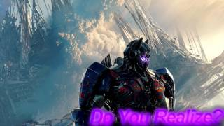 Transformers The Last Knight | Soundtrack #1 | Do You Realize?