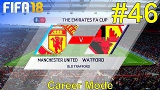 FIFA 18 - Manchester United Career Mode #46: vs. Watford