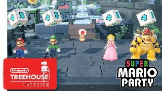 Super Mario Party Gameplay Pt. 1 - Nintendo Treehouse: Live | E3 2018