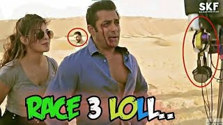 RACE 3 IS FUNNY || RACE 3 REVIEW || PHYSICS IS NO MORE || GAREEB