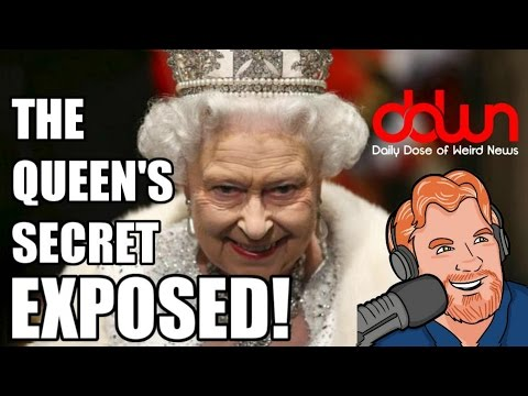 "Queen Elizabeth's ""Secret Code "" and 10 more weird news stories DailyDoseOfWeirdNews DDWN"