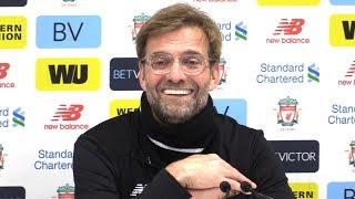 Liverpool 4-3 Manchester City - Jurgen Klopp Post Match Press Conference - Premier League #LIVMCI