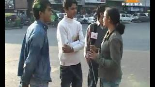 Bhawna - RJ & TV News Journalism Course Student with RKFMA