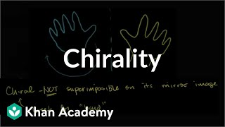 Introduction to chirality | Stereochemistry | Organic chemistry | Khan Academy