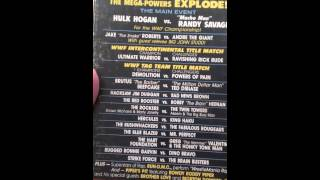WrestleMania 3 and 5 and Austin Uncensored vhs reviews