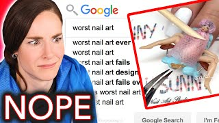 The Worst Nail Art On the Internet (Simply Review)