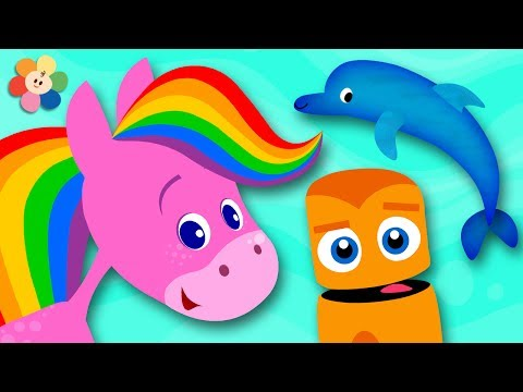 Xxx Mp4 Learn Colors With Animals Rainbow Horse And Color Crew Learn Colors For Toddlers By BabyFirst 3gp Sex