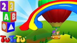 TuTiTu Preschool | Learning Colors for Babies and Toddlers | Hot Air Balloon