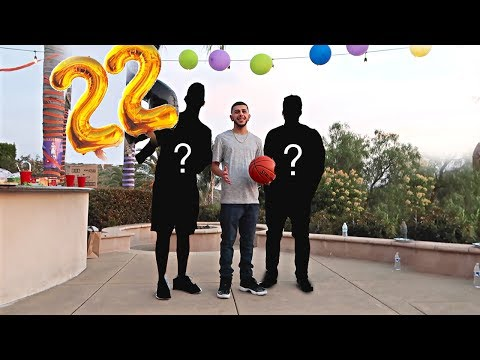 NBA PLAYERS SURPRISE ME!! (CRAZY BIRTHDAY PARTY)