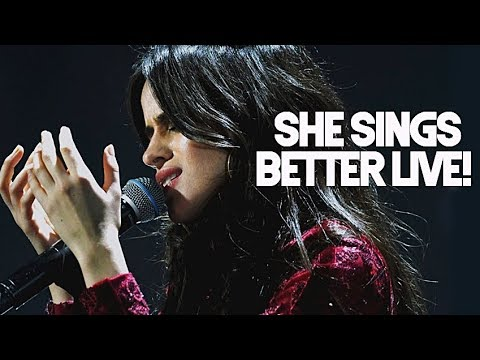 Times Camila Cabello sang BETTER LIVE than in studio record! (Part 1)