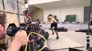 CAPTAIN AMERICA: CIVIL WAR - Behind The Scenes B-Roll Footage Scarlett Johansson