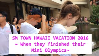 SM TOWN HAWAII 2016 (082916: after the mini olympics)