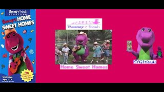 Barney Home Video: Barney's Home Sweet Homes a.k.a Home Sweet Homes (1993 VHS)