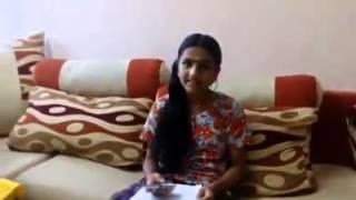 Jayalakshmi singing  hindi song   Lag   ja  gale