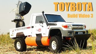 RC ADVENTURES - TOYBOTA PROJECT - PT 3 - BBC TOP GEAR TRiBUTE BUiLD - TOYOTA TRUCK-BOAT