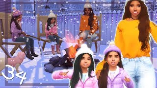 ICE SKATING! ⛸️❄️| RUNAWAY TEEN PREGNANCY CHALLENGE | The Sims 4 | Ep.34