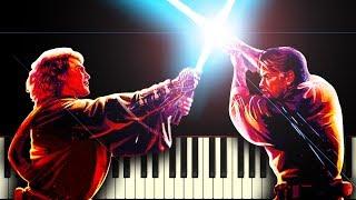 STAR WARS: ANAKIN vs OBI-WAN - Piano Tutorial